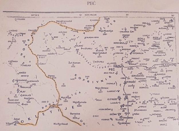 Kufiri në mes të Kosovës dhe Malit të Zi është vetëm 79 kilometra i gjatë por ka qenë temë e shumë debateve gjatë viteve të fundit.