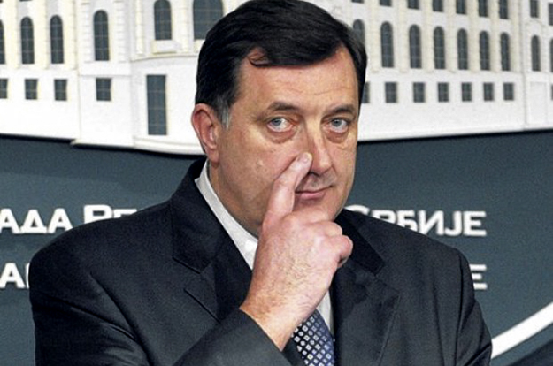 RS's President, Milorad Dodik, appears to be playing political games by threatening to instigate contentious referenda in the Serb-majority entity.