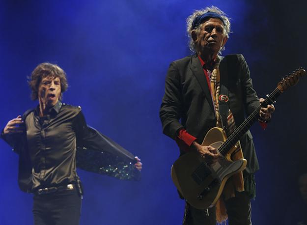 Rasic thotë se momenti kur i pa Rolling Stones për herë të parë ia ndryshoi jetën. Foto nga Brian Rasic.