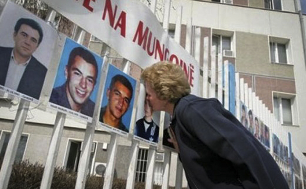 Around 1,665 people are still missing from the war in Kosovo.