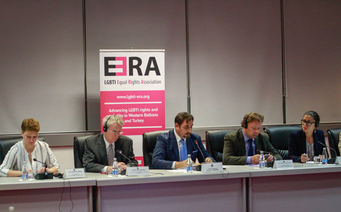 The historic three-day conference on LGBTI rights opened its doors last night in Kosovo.