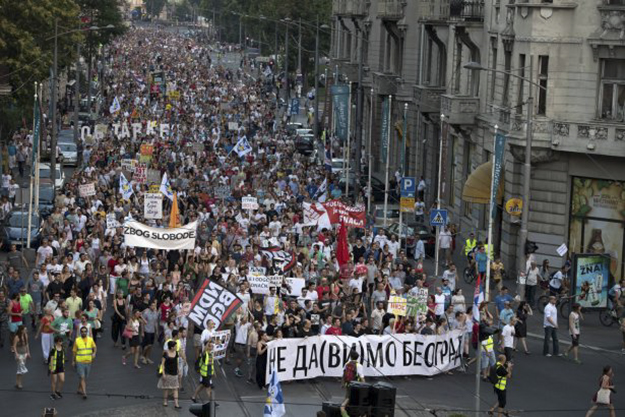 Ne da(vi)mo Beograd has sought to protect historic areas of Serbia's capital from unrestrained redevelopment.