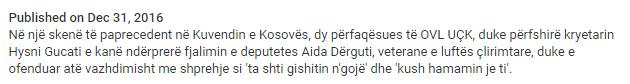 OVL vs. Aida Derguti