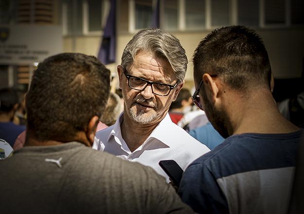 Dukagjin Gorani, Member of Vetevendosje Presidency.