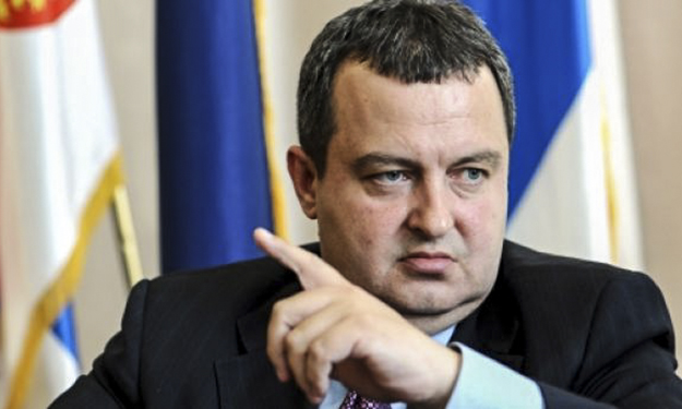 Serbia's Minister of Foreign Affairs, Ivica Dacic, compared Kosovo's UNESCO membership bid to an application by ISIS.
