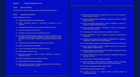 Copy of Neni 84 Kompetencat e Presidentit