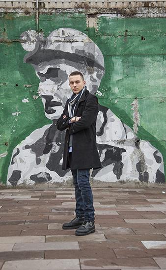 Yll Brezhnica (Mitrovicë, 17). Foto: Majlinda Hoxha / K2.0.