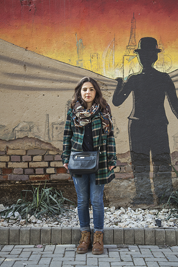 Zoga Hasani (Ferizaj, 18). Foto: Majlinda Hoxha / K2.0.