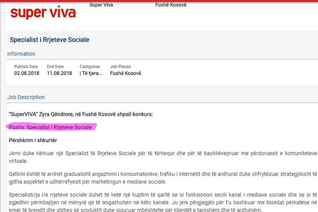 Supermarketet me ''super'' probleme - Kosovo 2 0