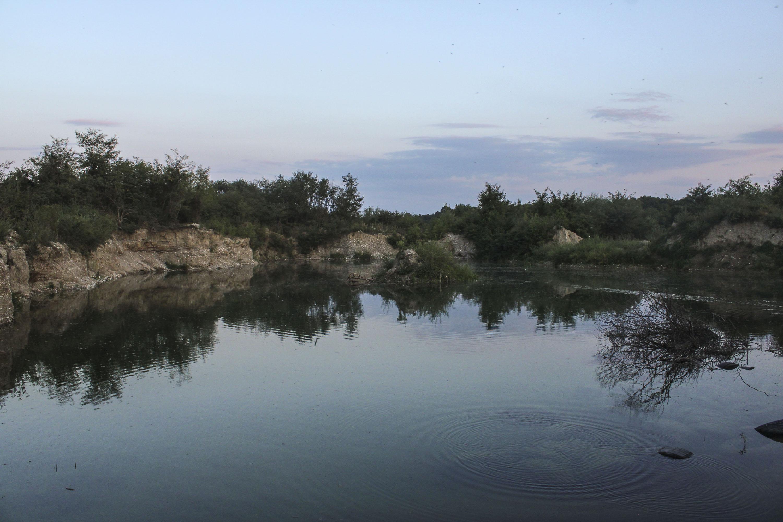 Jedna od riječnih bara na Pećkoj Bistrici.
